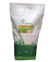 Газонная трава ЦВЕТОЧНАЯ с маргаритками -мешок 4кг.