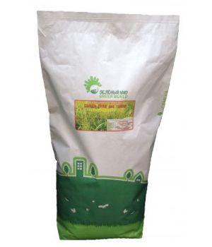 Газонная трава ДЕКОРАТИВНАЯ с белым клевером-мешок 10кг.